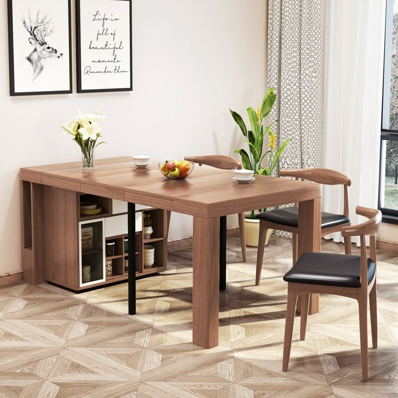 Modern 67 Extendable Dining Table Foldable Dining Table With