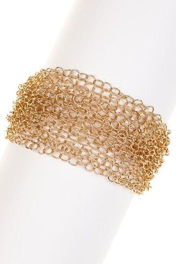 ML By Monique Leshman Mesh Layered Bracelet