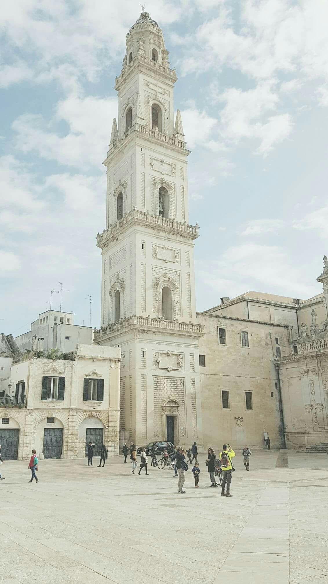 Architetti Famosi Lecce campanile del duomo di lecce (con immagini) | italia, luoghi