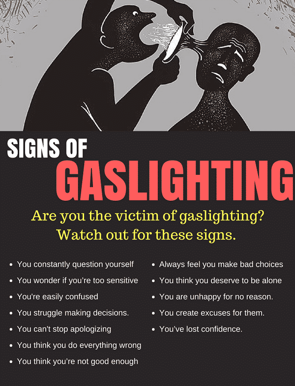 How to combat gaslighting