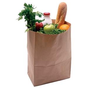 Brown Paper Bag Supermarket Paper Grocery Bags Food Food And Drink