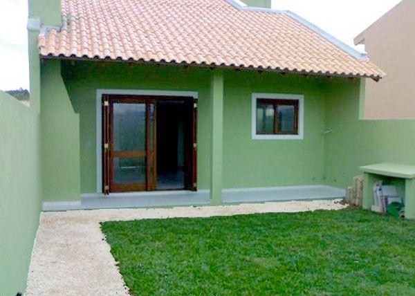 Fotos de fachadas de casas simples pequenas e baratas for Ver planos de casas pequenas