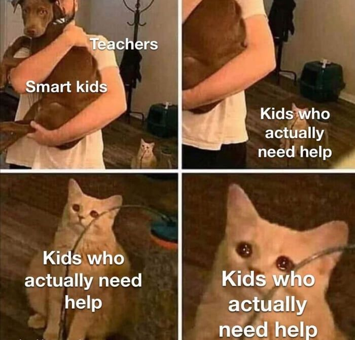 Kids Who Actually Need Help In 2020 Funny Relatable Memes Stupid Funny Memes Funny School Memes
