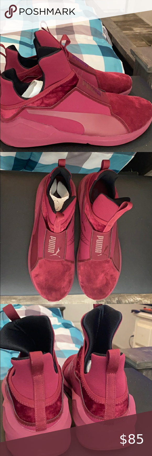 Puma, Womens shoes sneakers, Puma fierce