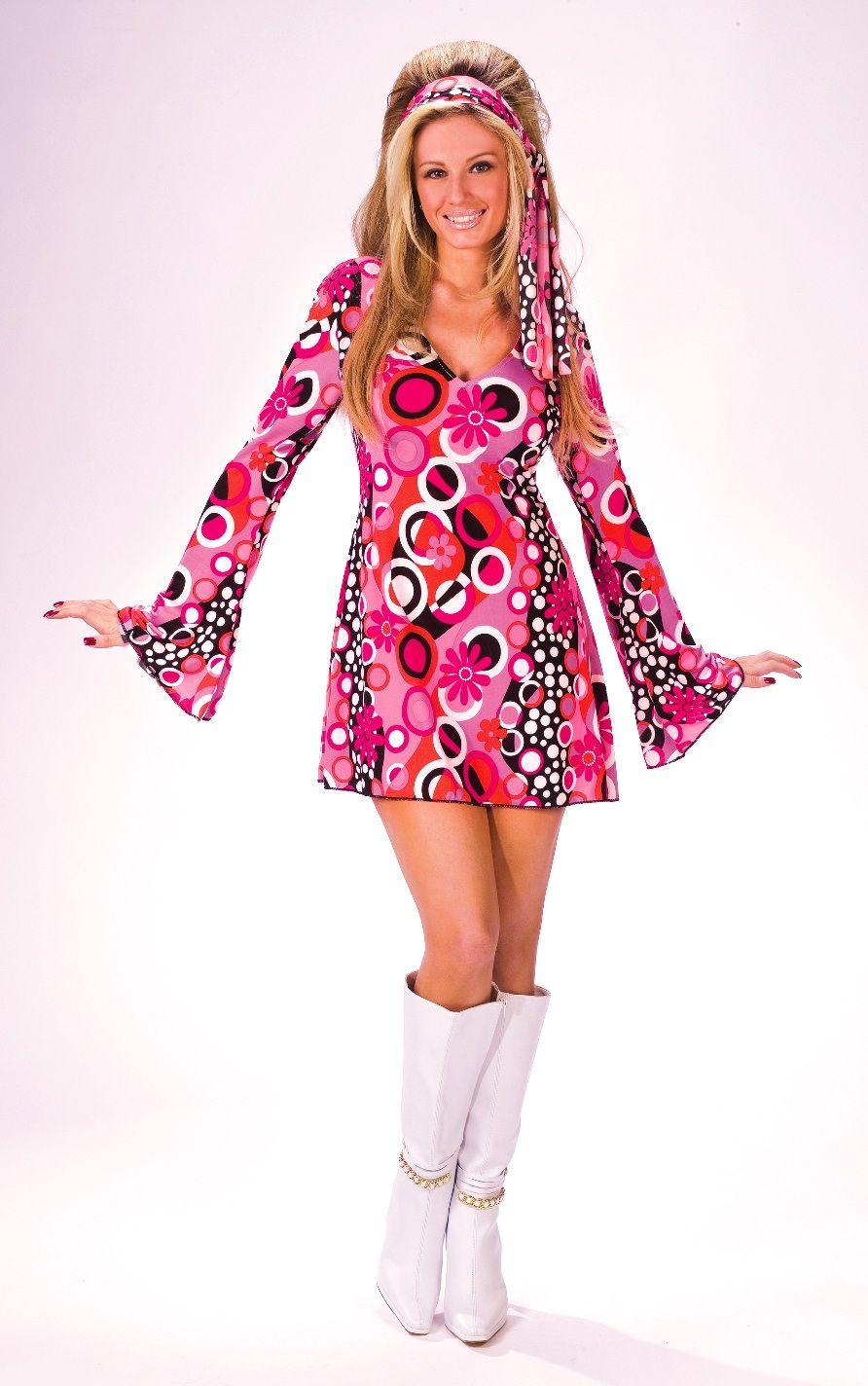Feelin\' Groovy women\'s 60s hippie   DISFRACES   Pinterest