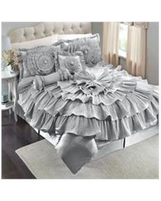 Brylanehome Brylanehome Romance Bed Comforter Set Silver King