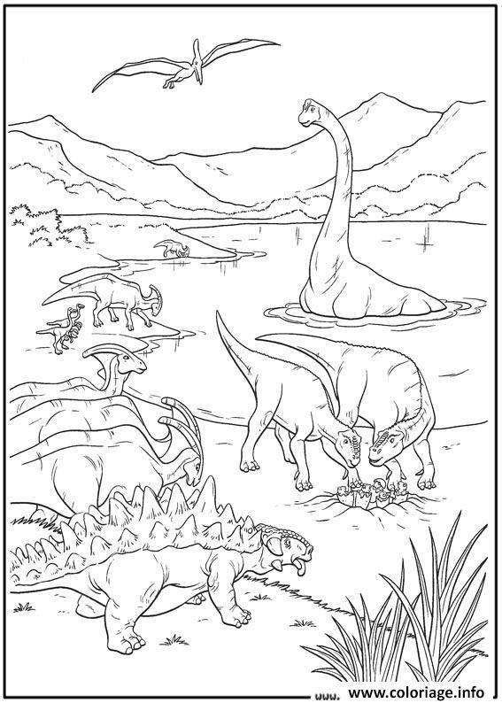 Coloriage dinosaure 36 imprimer kids dinosaur - Dinosaure dessin anime disney ...