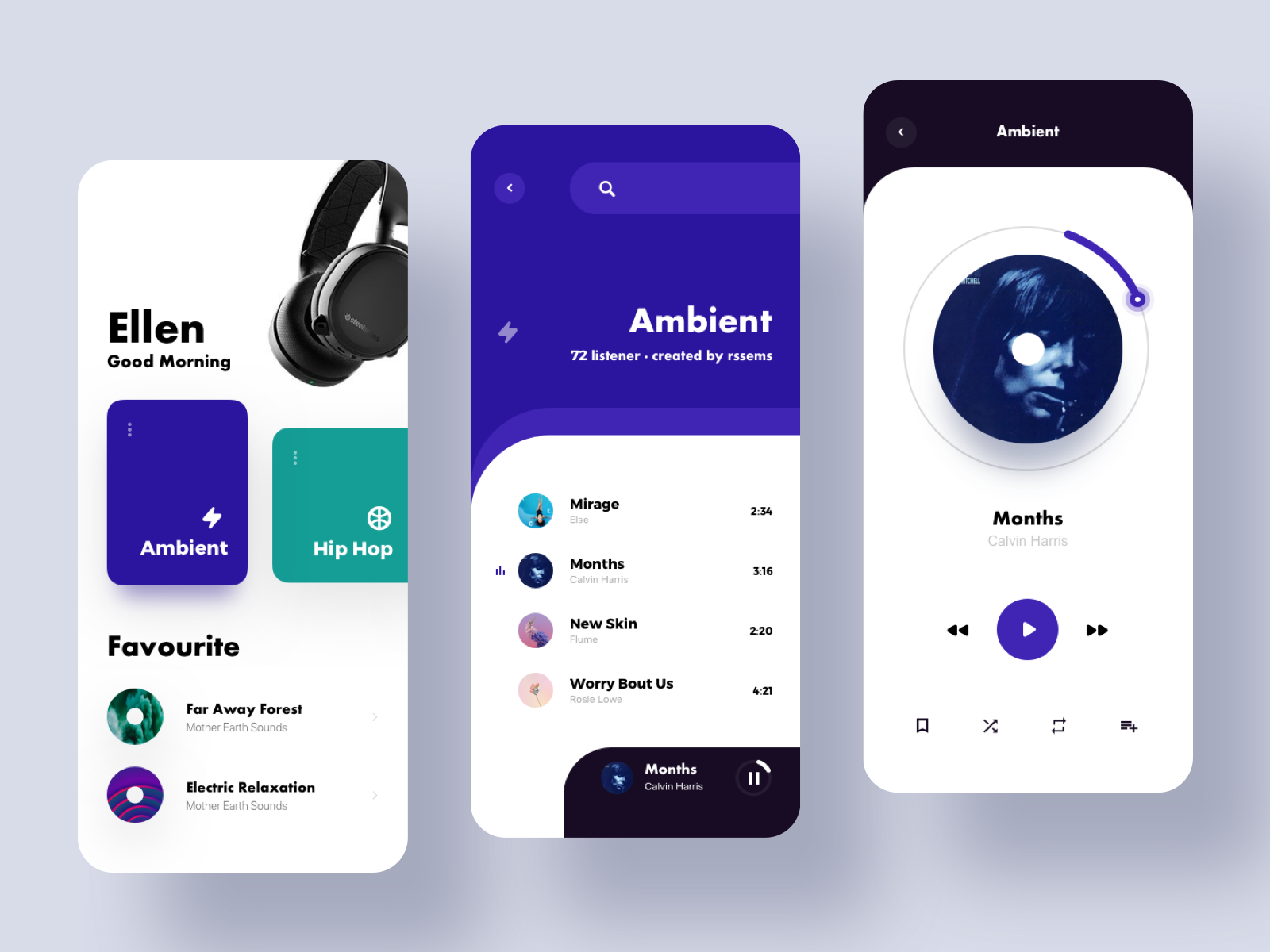 Music Player 1 Music App Design Mobile Design Ux Design Inspiration