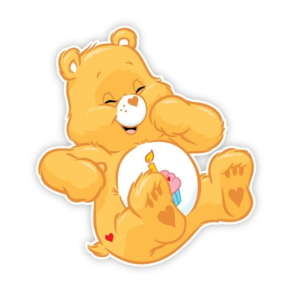 Bear happy. Care bears birthday
