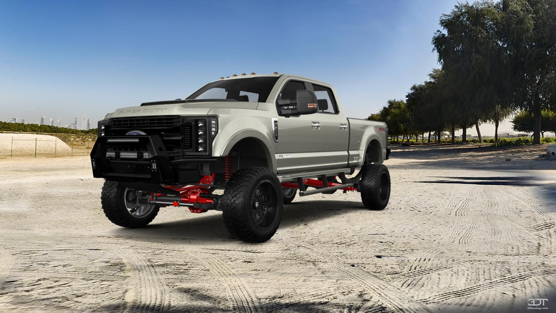 Checkout My Tuning Ford F 250 2018 At 3dtuning 3dtuning Tuning Ford Fender Flares Tonneau Cover