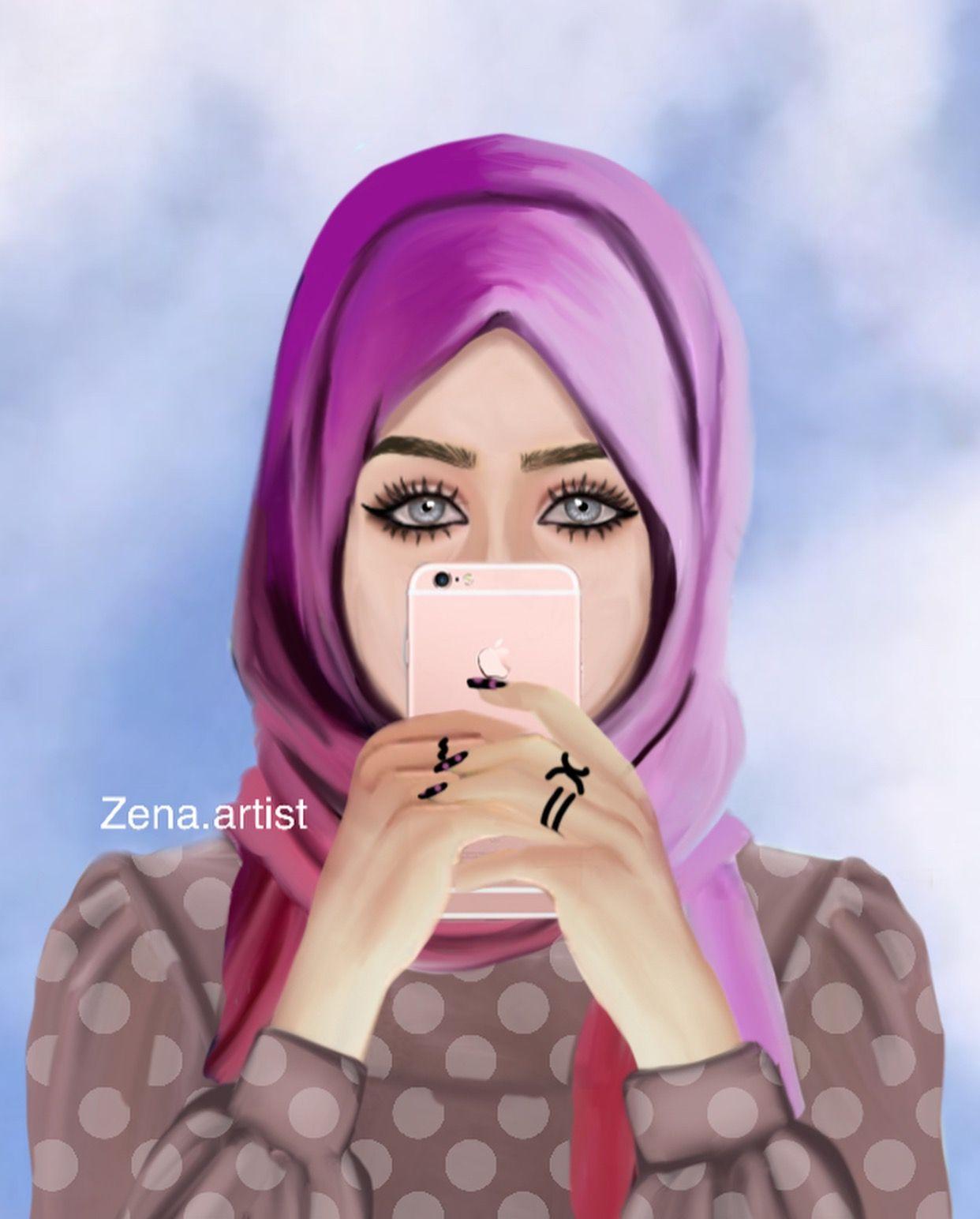 Pinterest just4girls islamic girl beautiful muslim women hijabi girl bff drawings