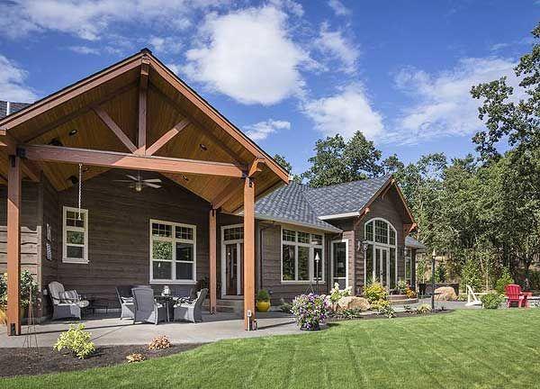 Attirant Plan 69582AM: Beautiful Northwest Ranch Home Plan