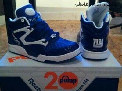 931b3a0ad2518d NY Giants Reebok pumps.