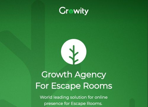 Growity landing page