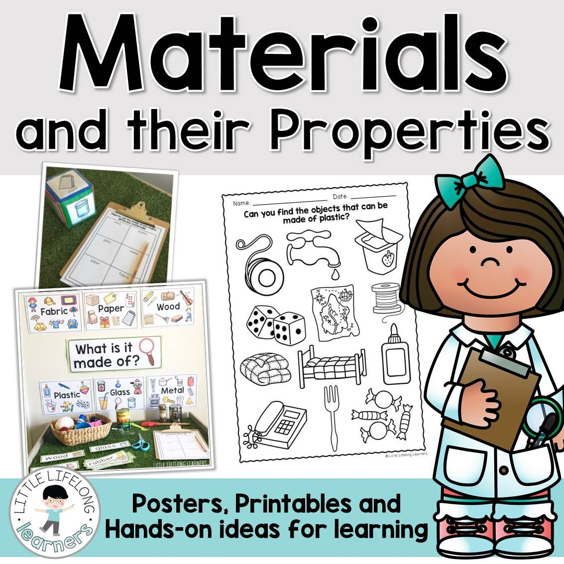 Australian Curriculum Materials And Their Properties Foundation Science Unit Science Units Australian Curriculum Science Activities [ 1133 x 1133 Pixel ]