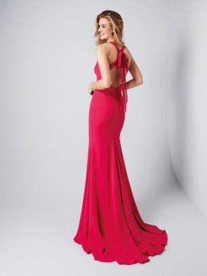 Vestido rojo sexy - Colección fiesta 2018 Pronovias  bcad0fcdc602