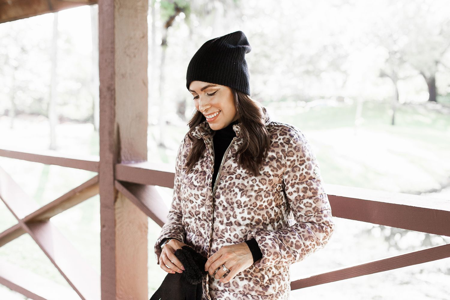 When You Need A Jacket For Fall The Bernardo Puffer Coat Is A Top Pick An Updated Style This Season This Leopard Puffer Ja Puffer Coat Express Leggings Coat [ 1000 x 1500 Pixel ]