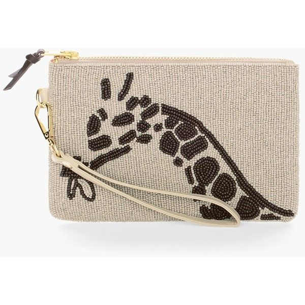 Chico S Beaded Giraffe Clutch 600 Ars Liked On Polyvore Featuring Bags Handbags