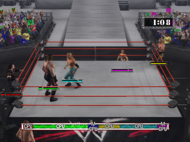 WWE RAW 2002 Video Game Images Free games, Games, Wwe