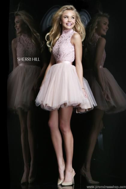 Sherri Hill Short Dress 21345 at Prom Dress Shop
