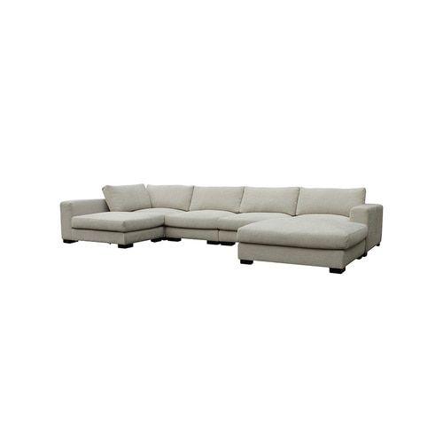 Colombo Sectional Cream White Products Cream White Moe S Home