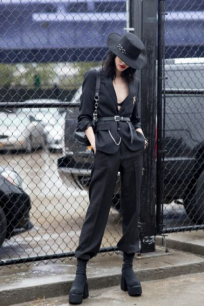 New York Fashion Week Spring 2019 Attendees Pictur