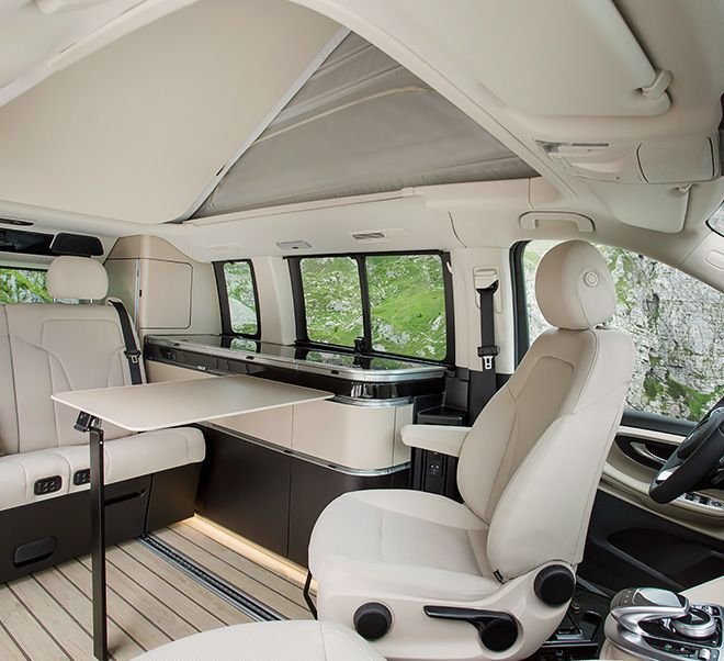 Posh Mercedes Marco Polo Camper Has Yacht Wood Floors