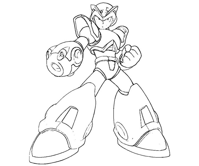 Mega Man Coloring Page Mega Man Coloring Page Many Interesting Cliparts And Megaman Zero Sketch Preview By Theatombomb Devia Coloring Pages Mega Man Color