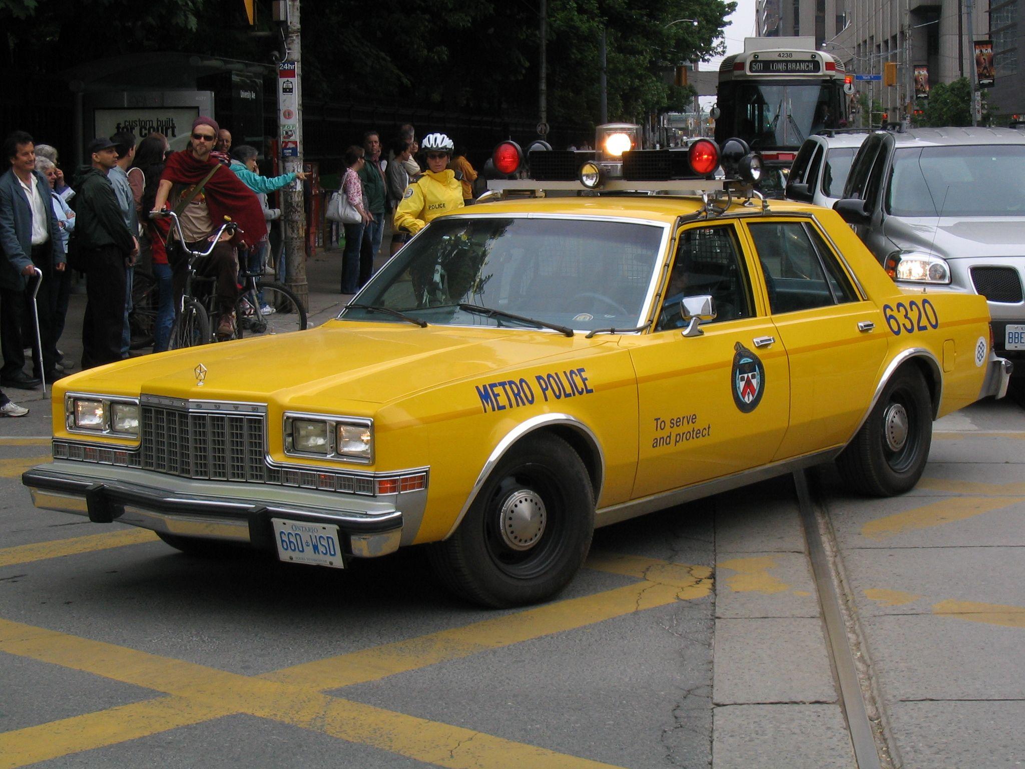 Toronto police car 1980\'s | finch | Pinterest | Police cars, Cars ...