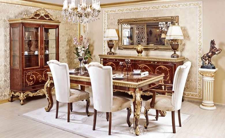 Sidelya Klasik Yemek Odası  ༺✿༻Dining Room༺✿༻  Pinterest Alluring Classic Dining Rooms Decorating Inspiration