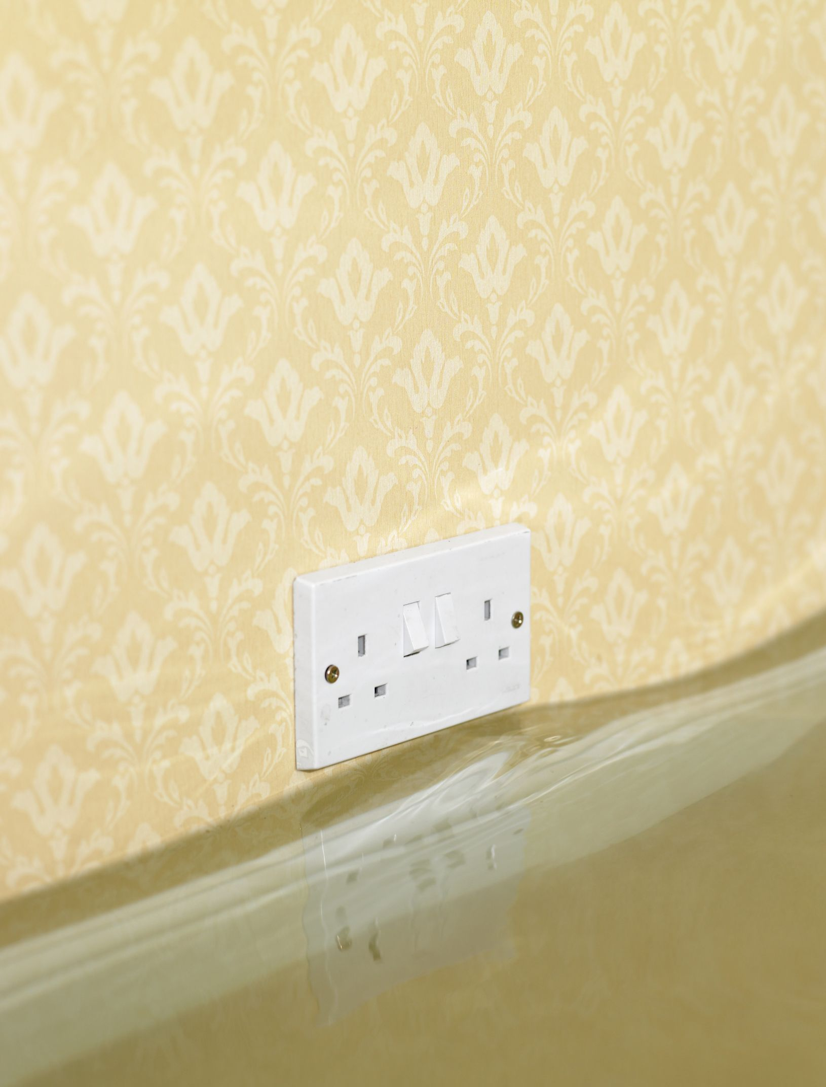 Repairing A Water Damaged Mdf Baseboard Hunker Water Damage Baseboards Wall Outlets