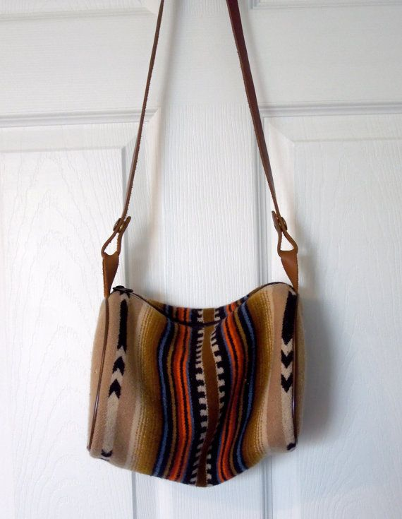 279809b0b5 May have to purchase --- hard to resist ---- Dream Bag    Vintage Pendleton  purse by fromroses on Etsy