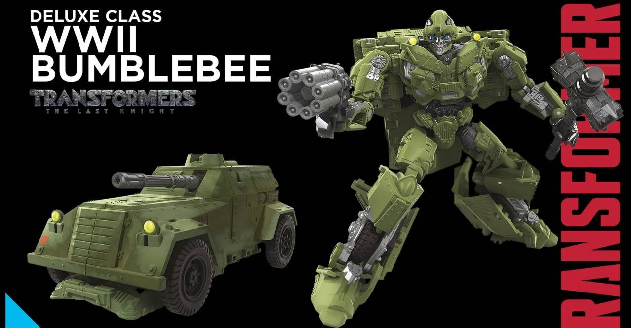 Transformers Studio series WWII Bumblebee toy | figma | Transformers