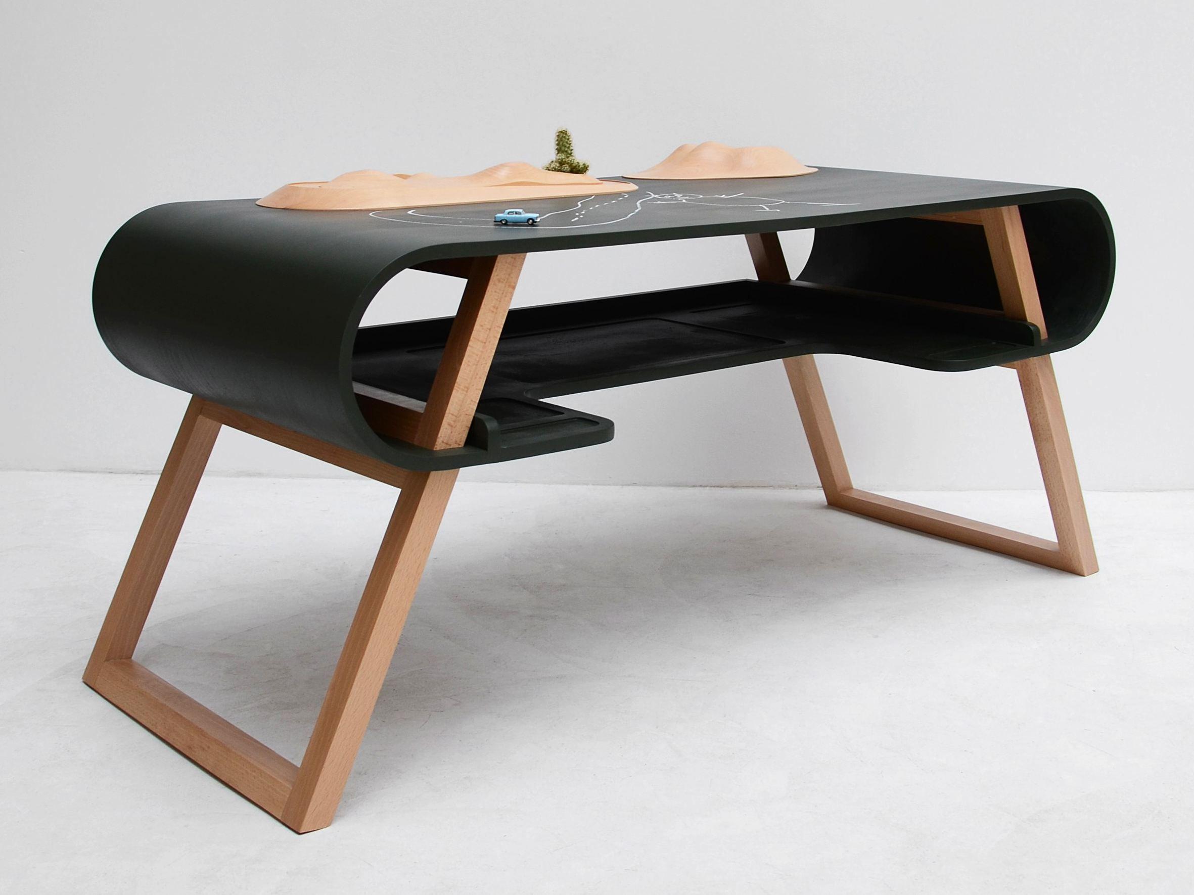 escritorio de mdf para de nios rubens by compagnie diseo jean franois bellemre