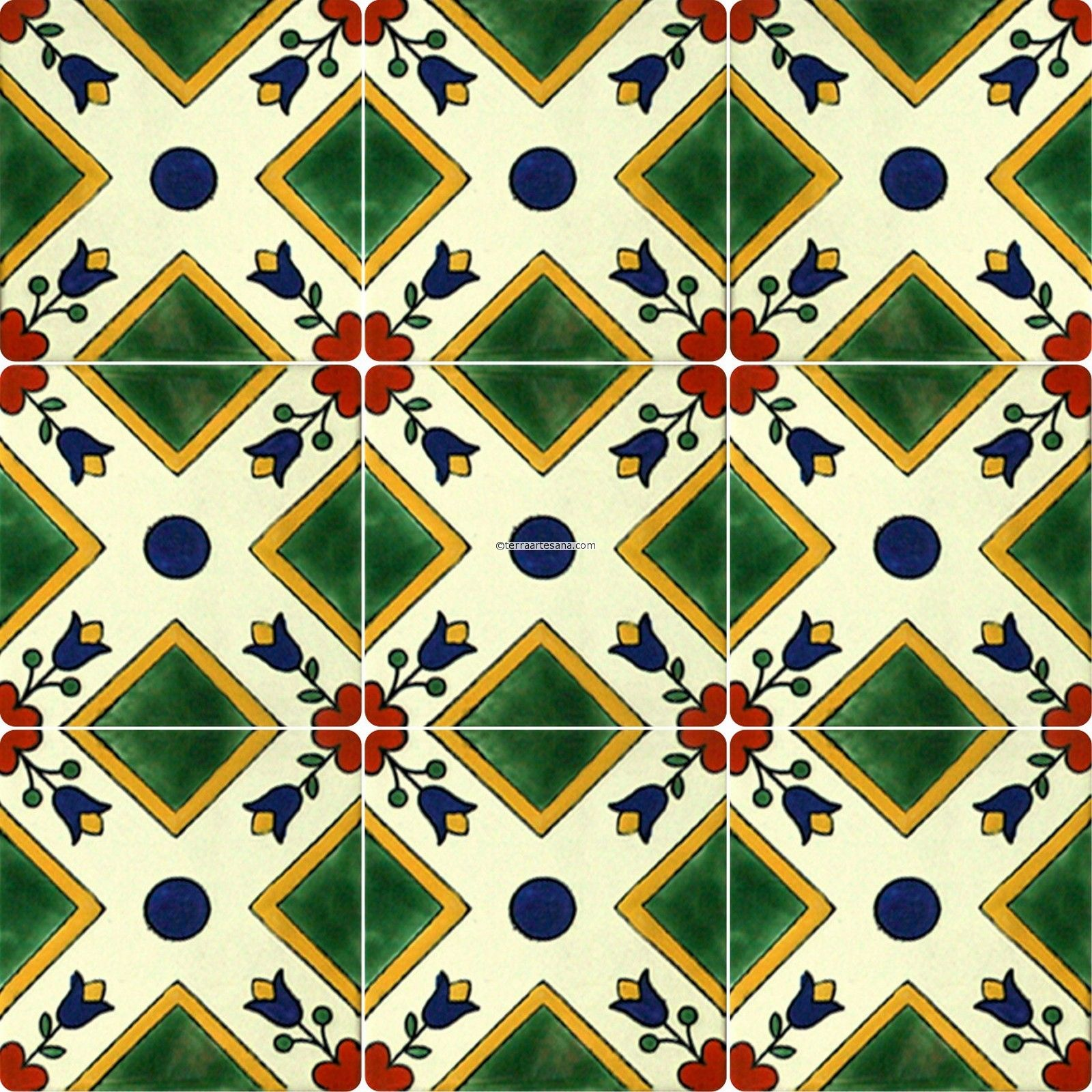 talavera tile Google Search Tile wallpaper, Talavera