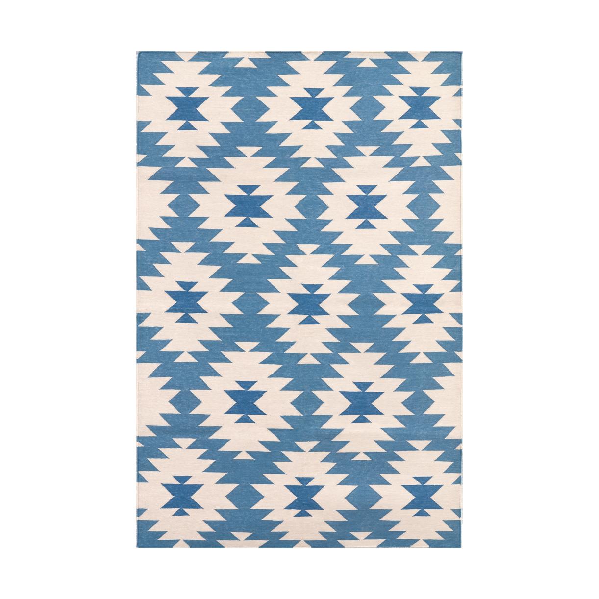 Light Blue Blue Jordan Cotton Carpet Cotton Carpet Rugs On Carpet Modern Furniture Decor
