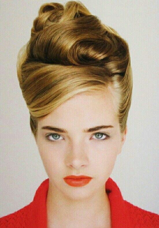 Coque Alto 60er Und 70er Beehive Hair Vintage Updo Und Hair Styles