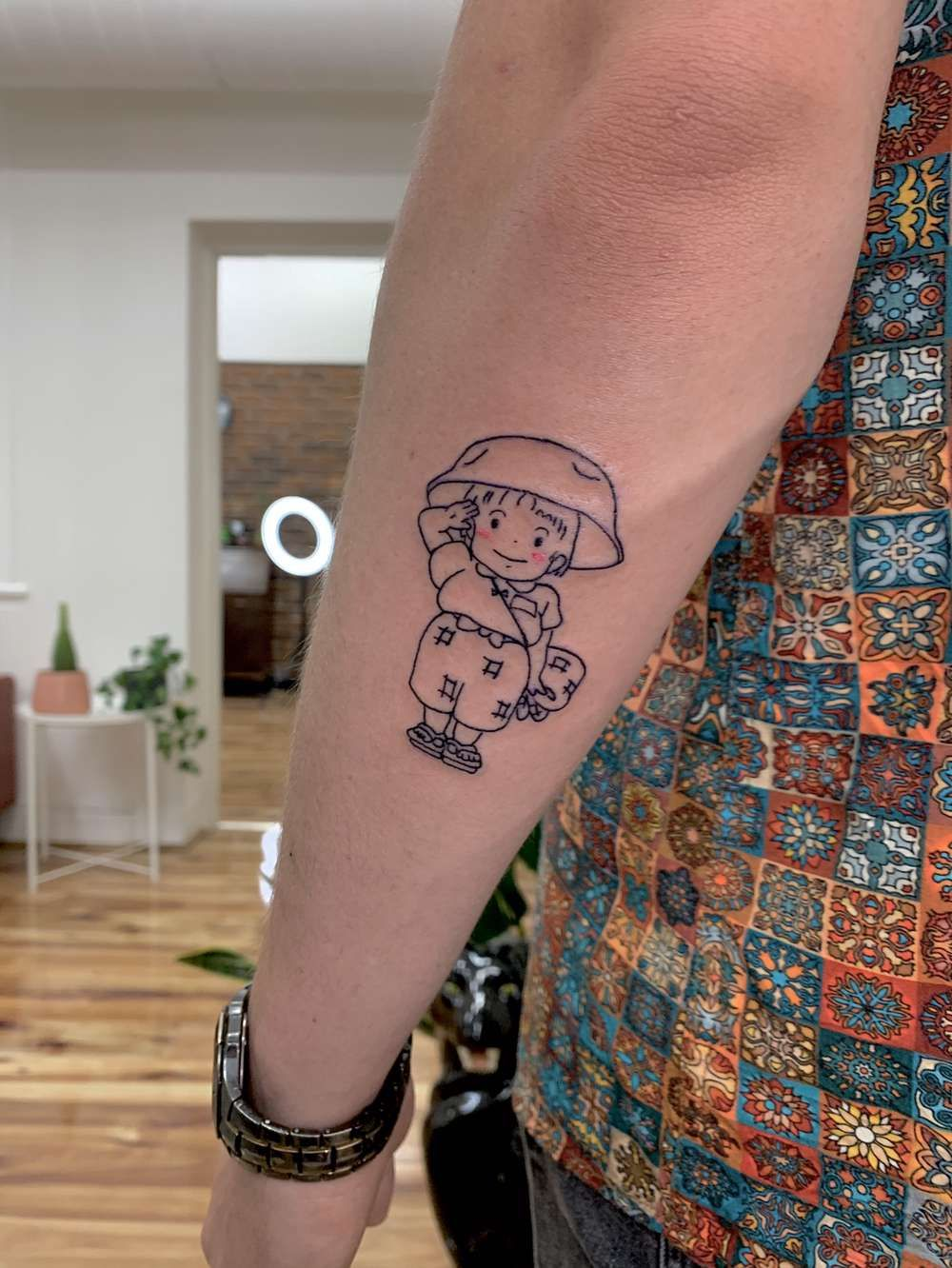 Setsuko From Grave Of The Fireflies Done By Layla Parliament House In 2020 Firefly Tattoo Ghibli Tattoo Grave Of The Fireflies