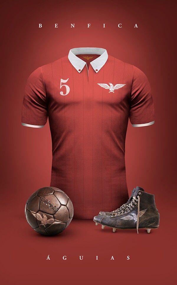 b9d604f5747 Sport Lisboa e Benfica Uniformes Futebol