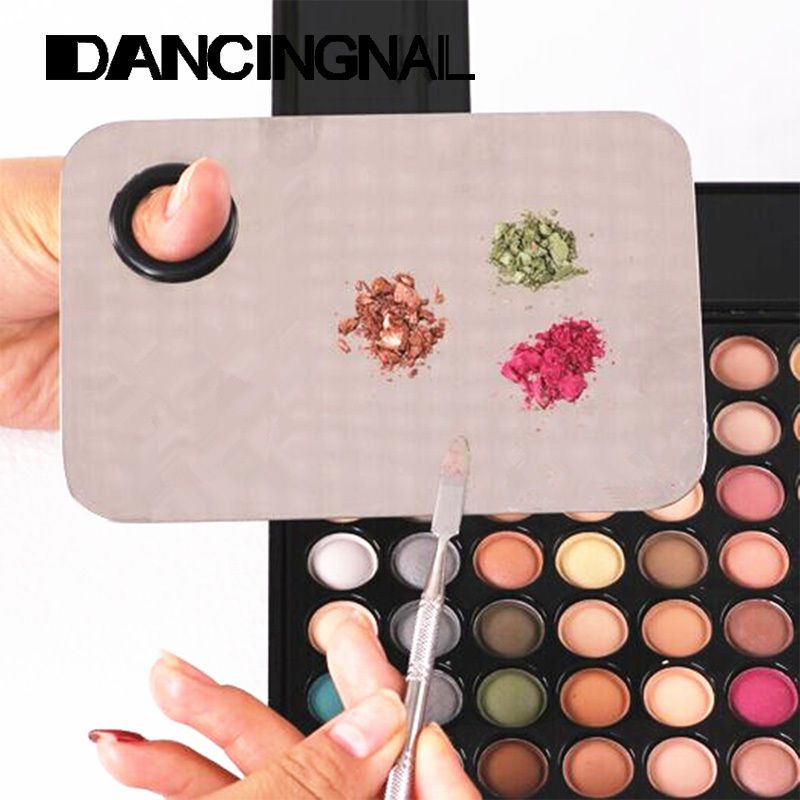 Beauty Stainless Makeup Nail Eye Shadow Mixing Palette Spatula Cosmetic Tool New #New