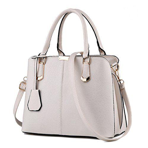 Cocifer Women Top Handle Satchel Handbags Tote Purse Leather
