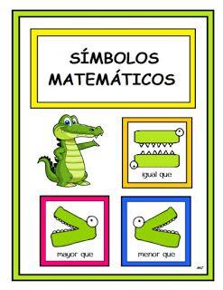 My Bag Pt Simbolos Matematicos Matematicas Material Didactico Para Matematicas