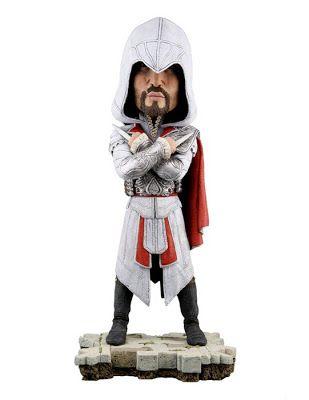 Фигурка Assassins Creed Brotherhood  Revelations Ezio Head Knocker  шт