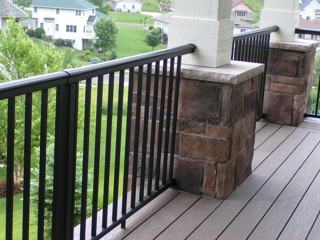 Front Porch Railings   ... front-porch-railing-and-stone ...