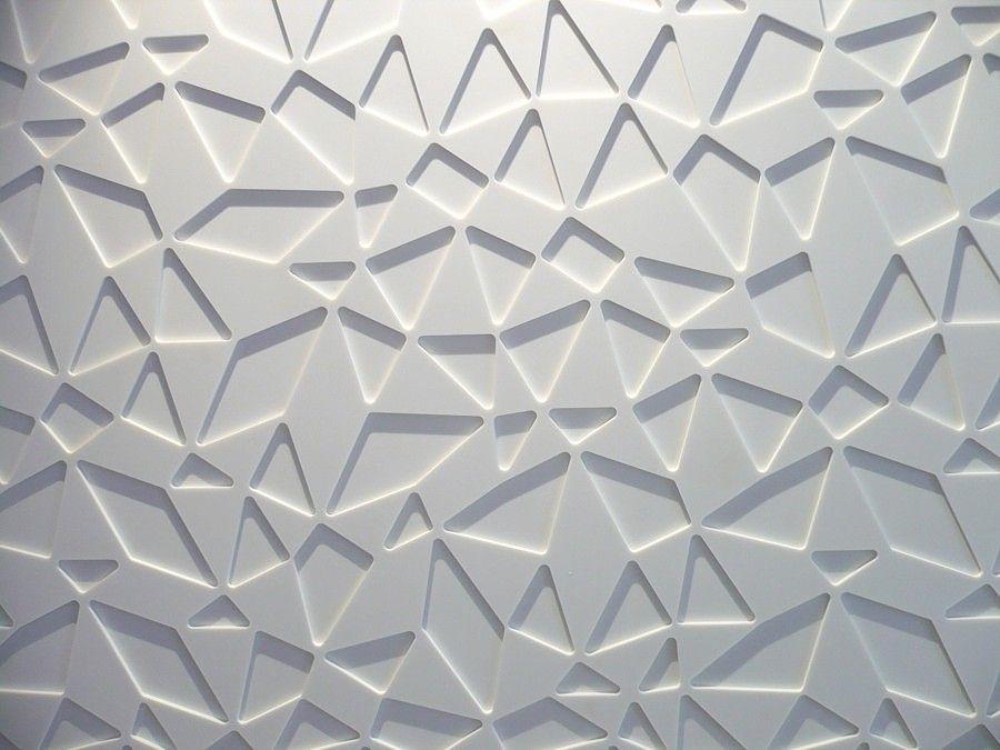 Amos Design Repete Design Adam Turecek Decorative Panel For Interior Cladding Corian Textures Patterns Texture Texture Design