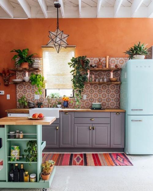 Orange Kitchen Decor: Trendovi Uređenja Interijera Za 2018. - žena.hr