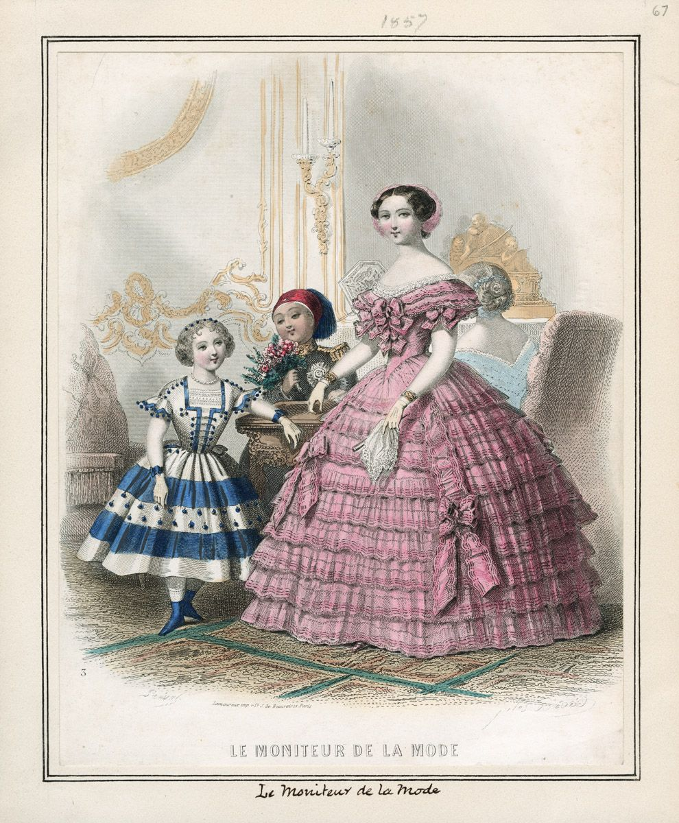 Le Moniteur de la Mode; January 1, 1857