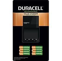 Duracell Battery Charger With Rechargeable Aa 6 Pk And Aaa 4 Pk In 2021 Rechargeable Battery Charger Duracell Rechargeable Batteries