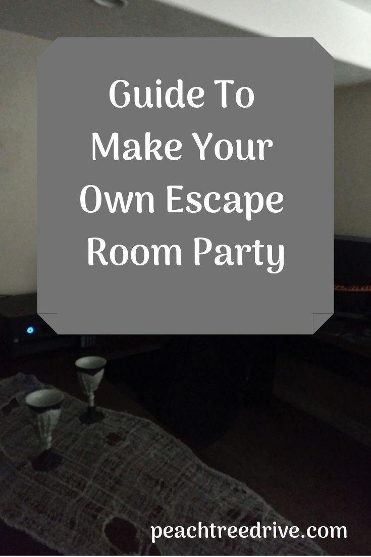 Escape Room Party At Home For Teens Spejdere Fest Sygeplejerske