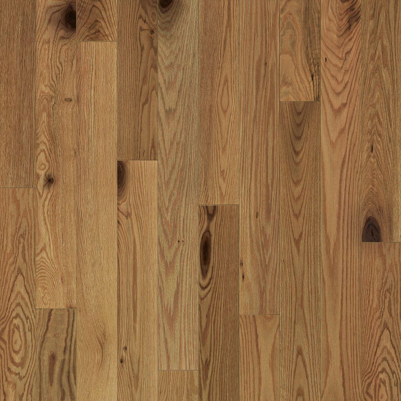 red oak, natural, oiled hardwood flooring Preverco